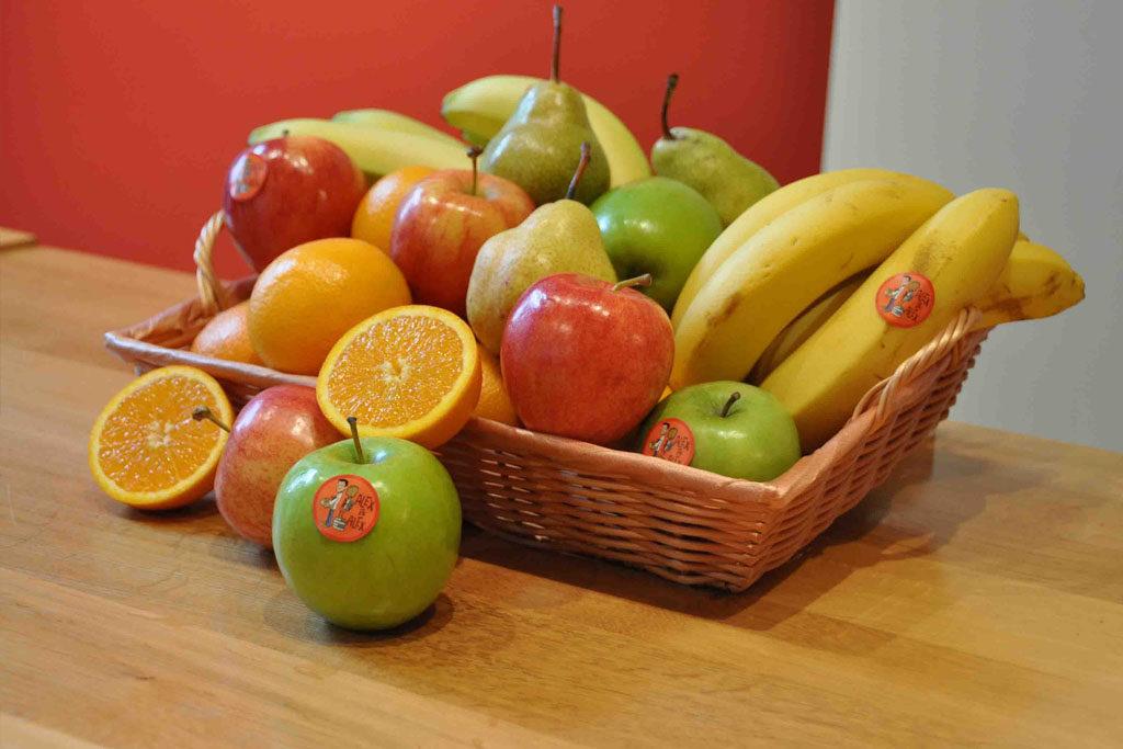 corbeille fruit entreprise