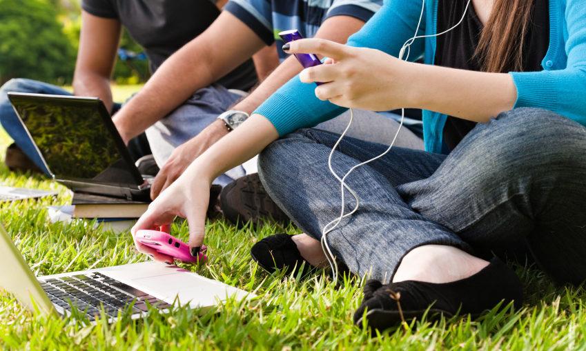 jeunes sur internet