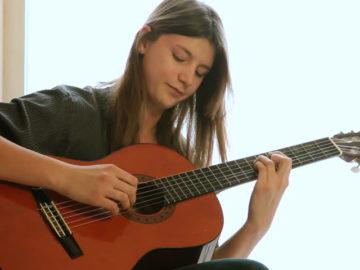 debut guitare